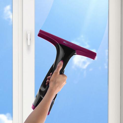 Kleeneze® Cordless Rechargeable Window Vacuum Cleaner 60 ml Streak Free