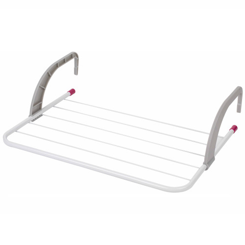 Kleeneze® 6-Bar Radiator Attachable Airer for Hand Towels or Clothes