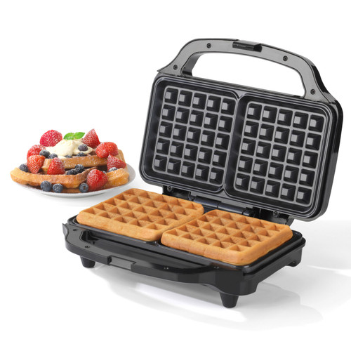 Salter Deep Fill Waffle Maker with XL Non-Stick Cooking Plates