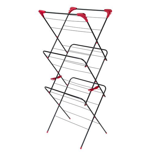 Russell Hobbs 3-Tier Deluxe Clothes/Garment Airer   15 M Drying Space
