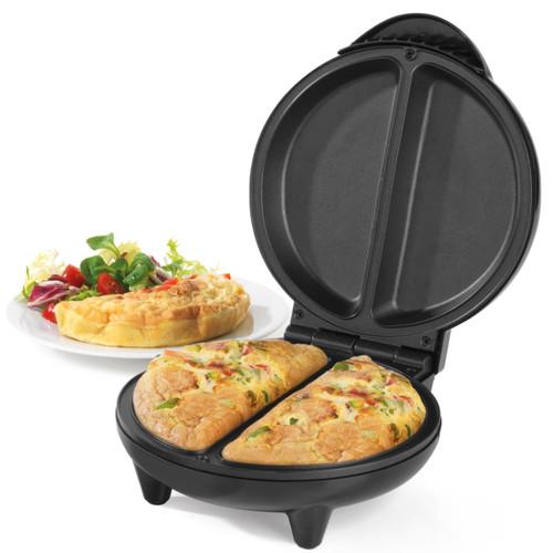Salter® Non-Stick Omelette Maker, Dual Pan, Electric Egg Cooker