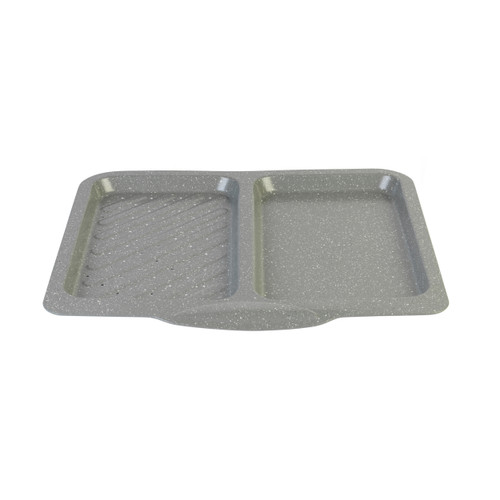 Salter Marble Split Dual Function Baking Tray, Non-Stick