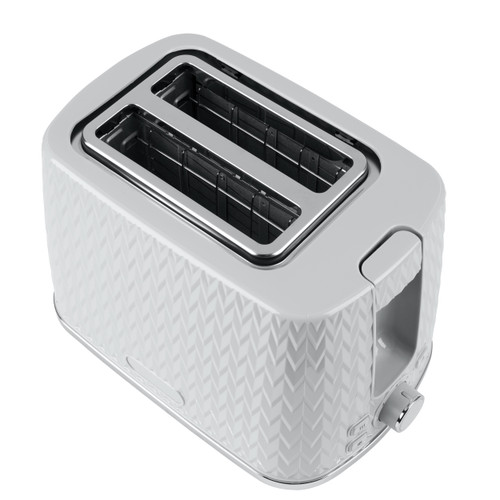 Progress® Chevron 2-Slice Toaster with Variable Browning | Grey