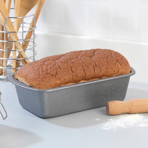 Progress® 28cm Non-Stick Metallic Marble Bread Loaf Pan, Baking Tin
