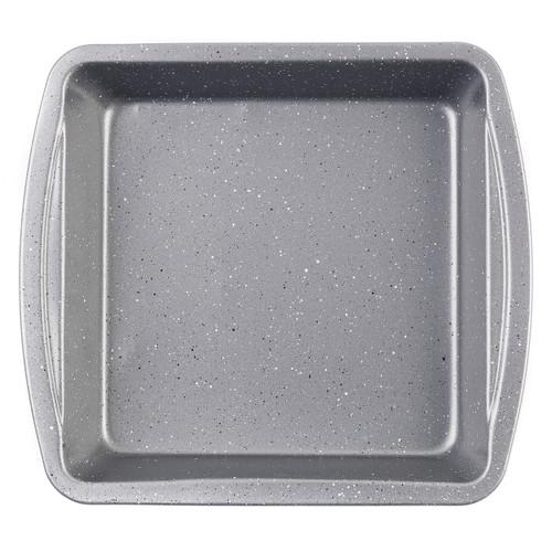 Progress® Non-Stick Metallic Marble Square Pan, 26 cm