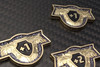 Sanctified Plate Metal Armor Counters - Sparkle Gray (5)