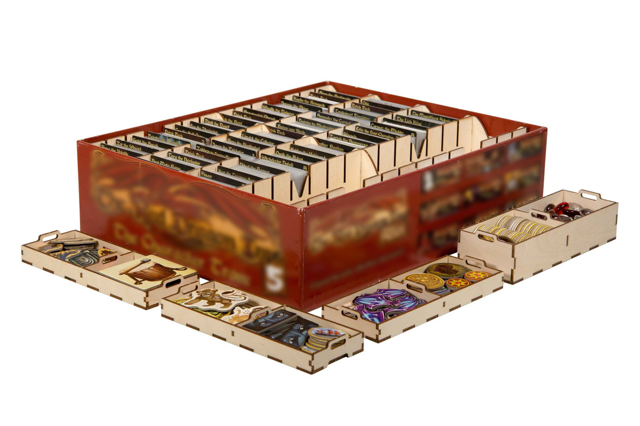 Game Organizer compatible with Red Dragon Inn: The Character Trove