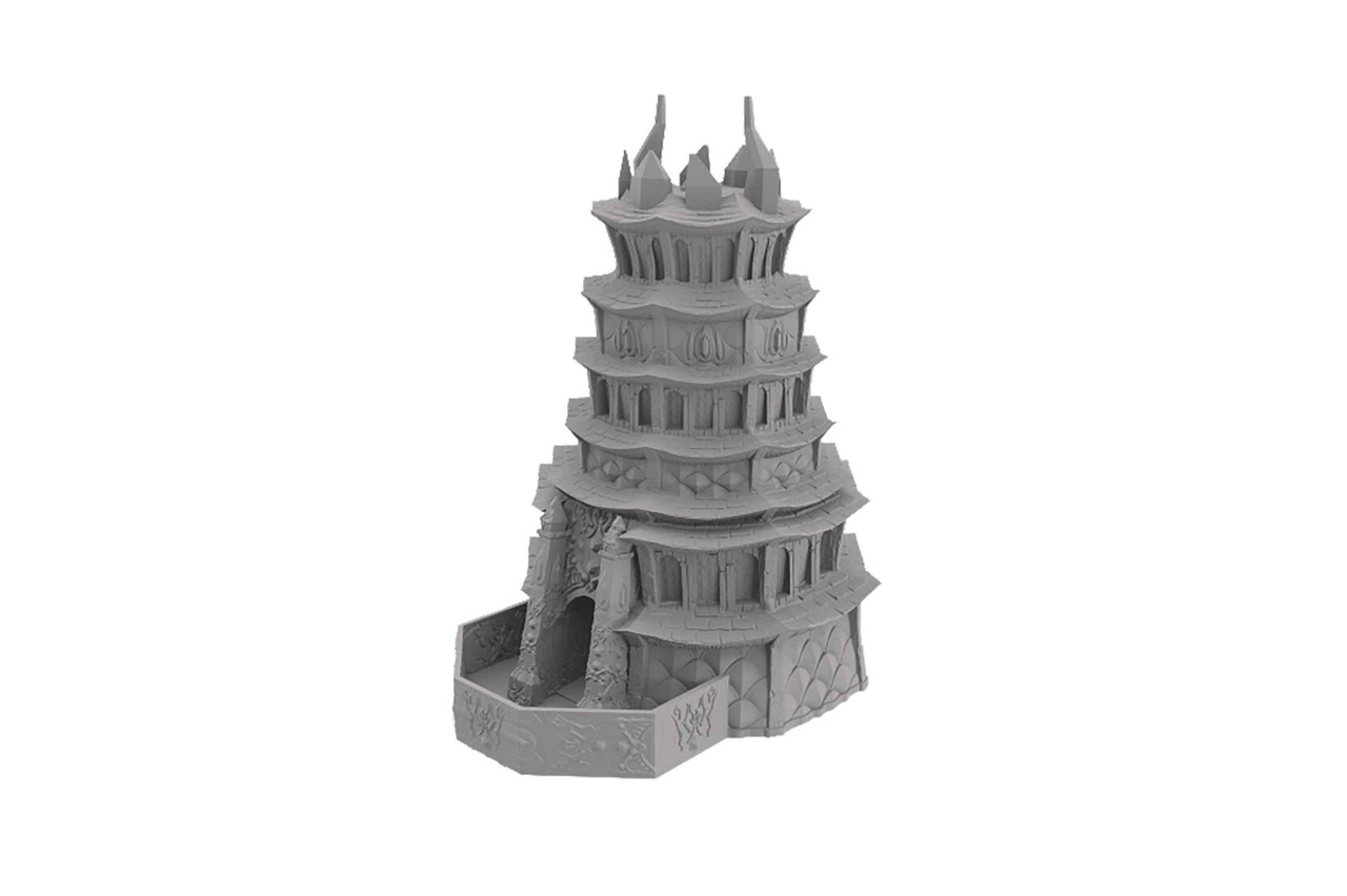 Fate's End Dice Tower - Drow