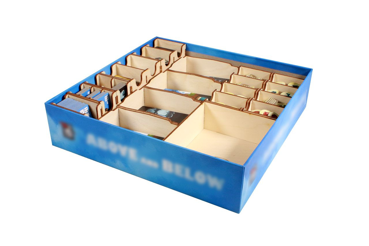 Game Organizer compatible with Above and Below