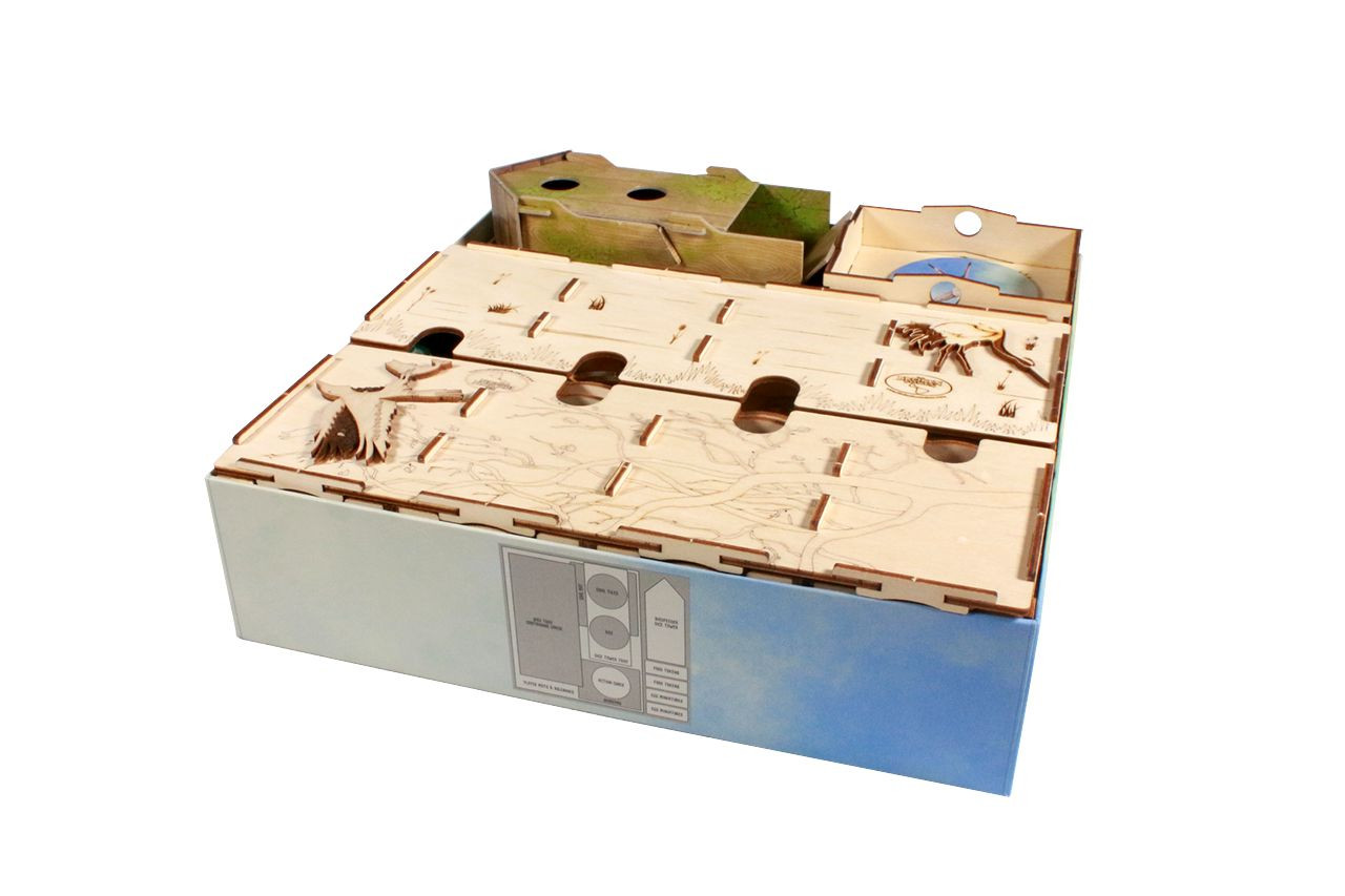 Organizer Upgrade compatible with Wingspan Oceania Expansion