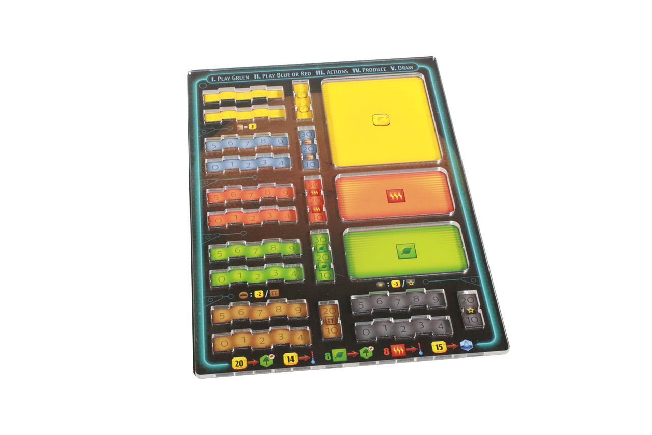 Acrylic Overlays compatible with Terraforming Mars: Ares Expedition (4)