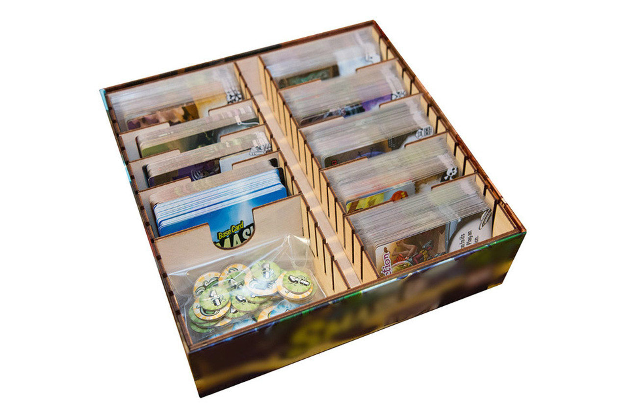 Game Organizer compatible with Smash Up