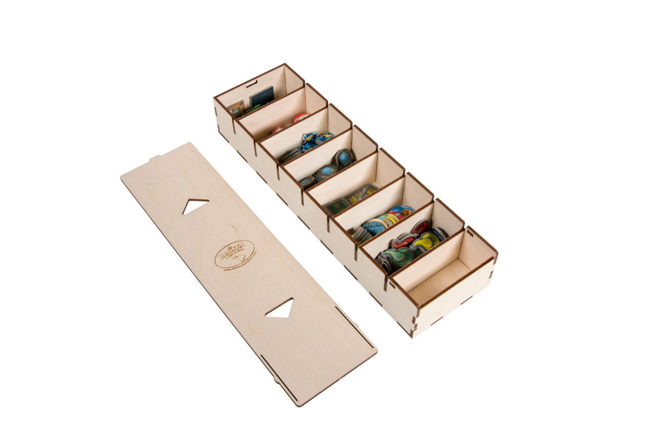 Long Bits Box for Sleeved Card Game Organizer