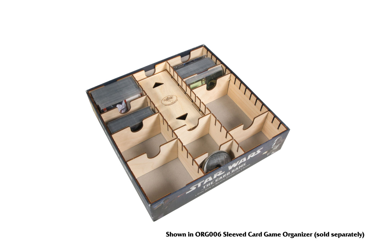 Short Bits Box for Sleeved Card Game Organizer