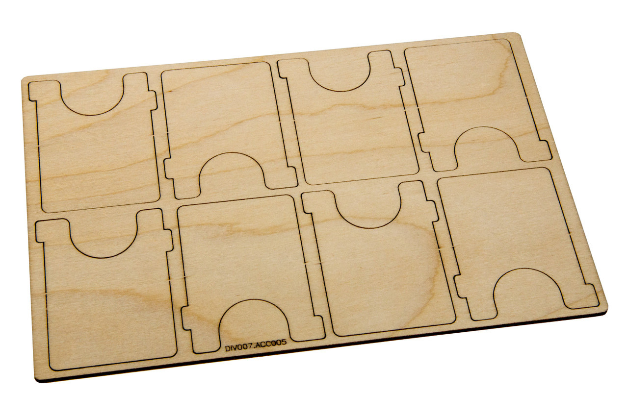 Extra Dividers for Mini-American Card Case (8)