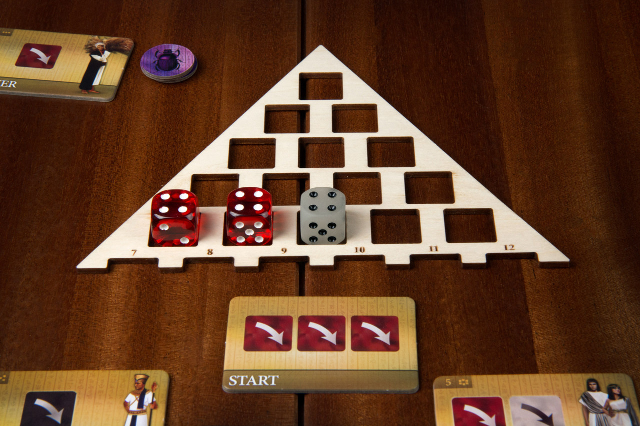 Dice Trays compatible with Favor of the Pharaoh (4)