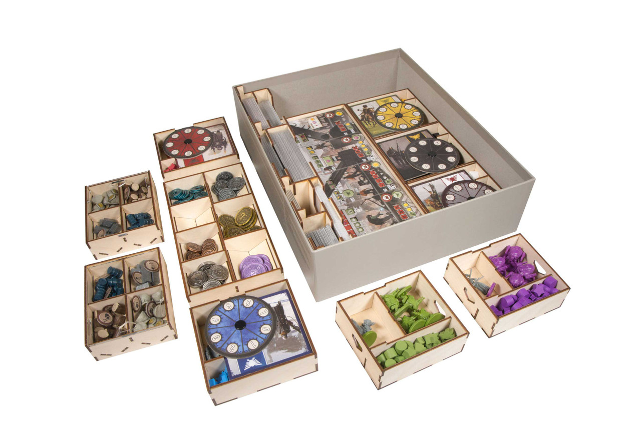 Game Organizer compatible with Scythe