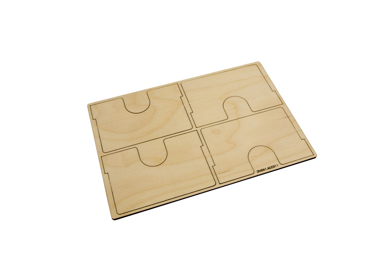 Extra Dividers for Standard-Size Card Case (4)