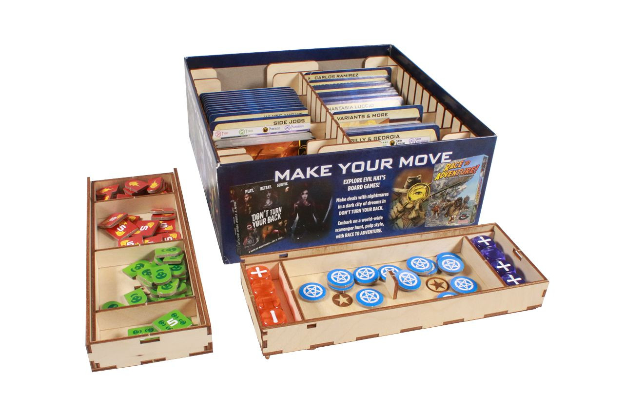 Game Organizer compatible with The Dresden Files CCG