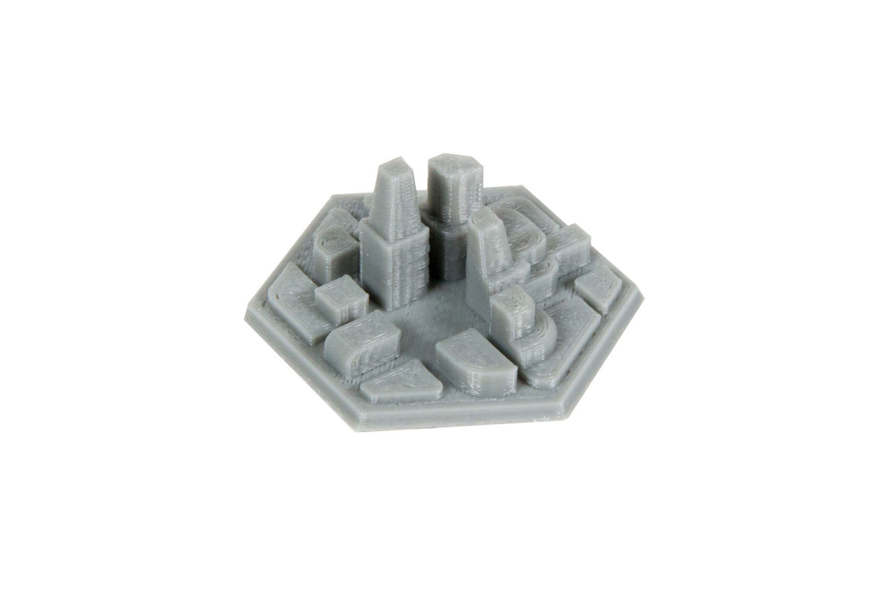 Space Colony City Hex Tiles (10)