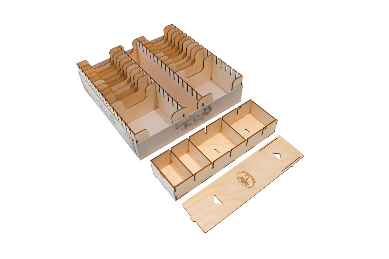 Compact Card Game Organizer