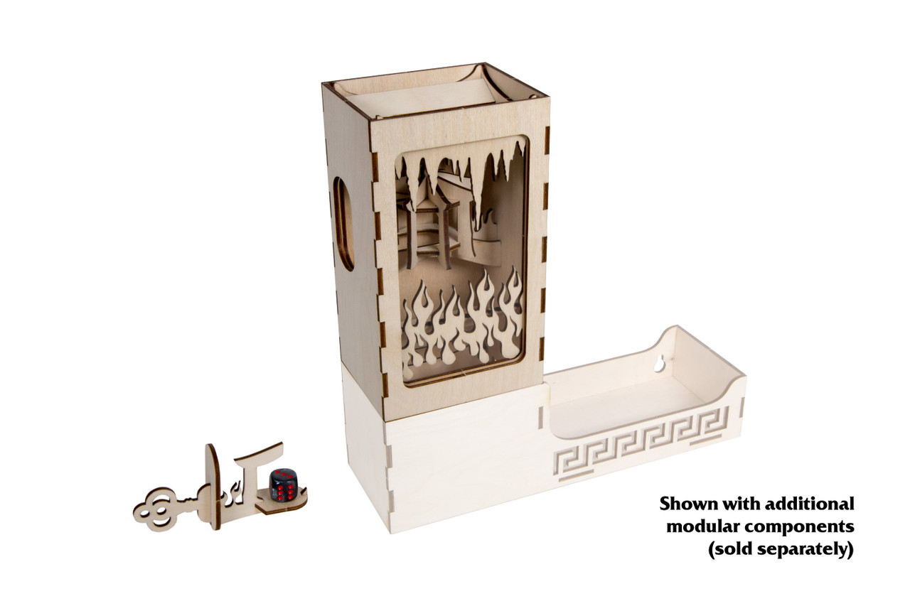 Modular Dice Tower - Shame