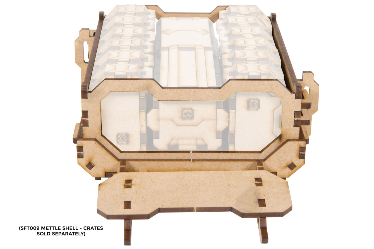 Mettle Shell - Shipping Container