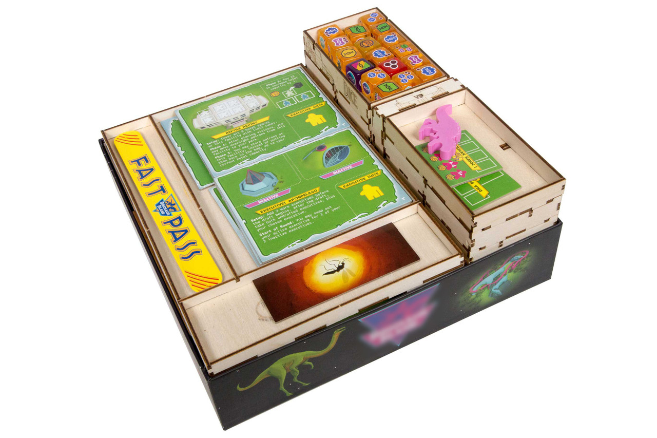 Game Organizer compatible with Dinosaur Island Totally Liquid