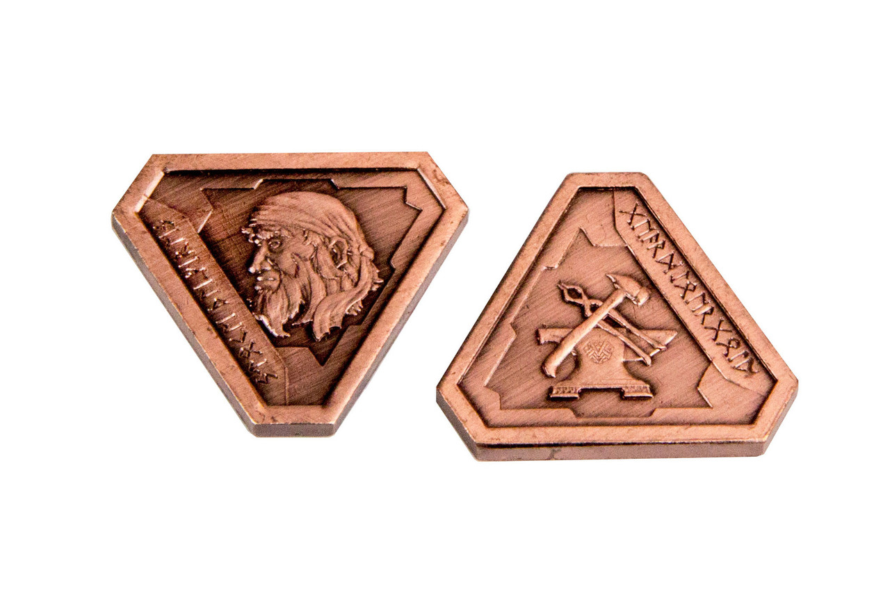 Fantasy Coins - Forge Master Copper