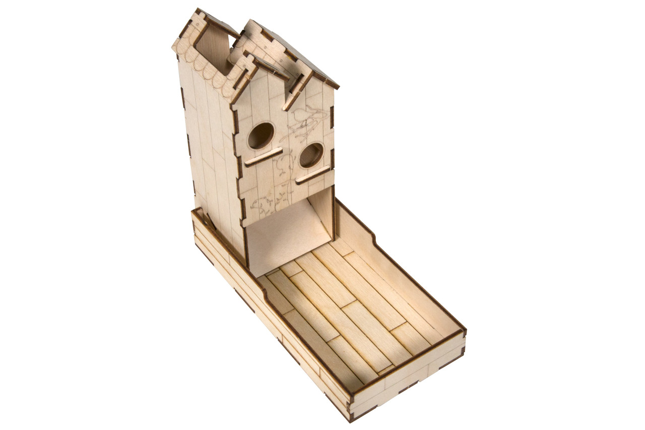 Mini Dice Tower Kit - Birdhouse