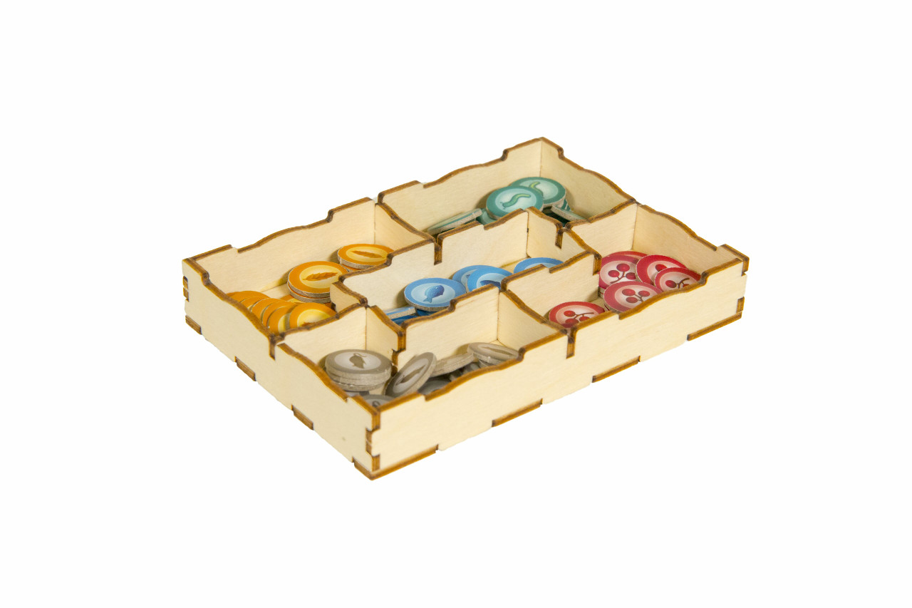 Game Organizer compatible with Wingspan