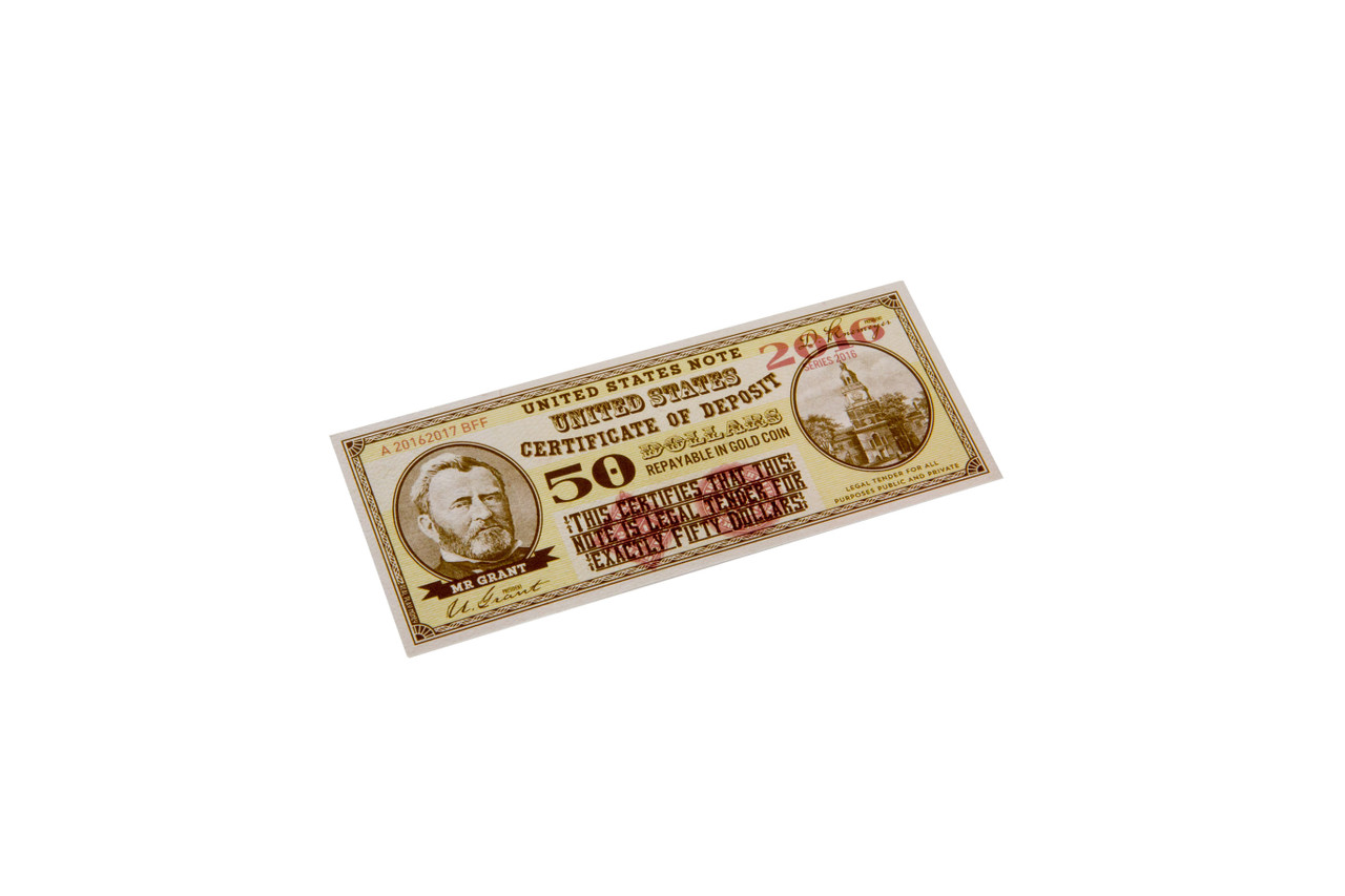 Paper Gaming Money - Presidents of the US