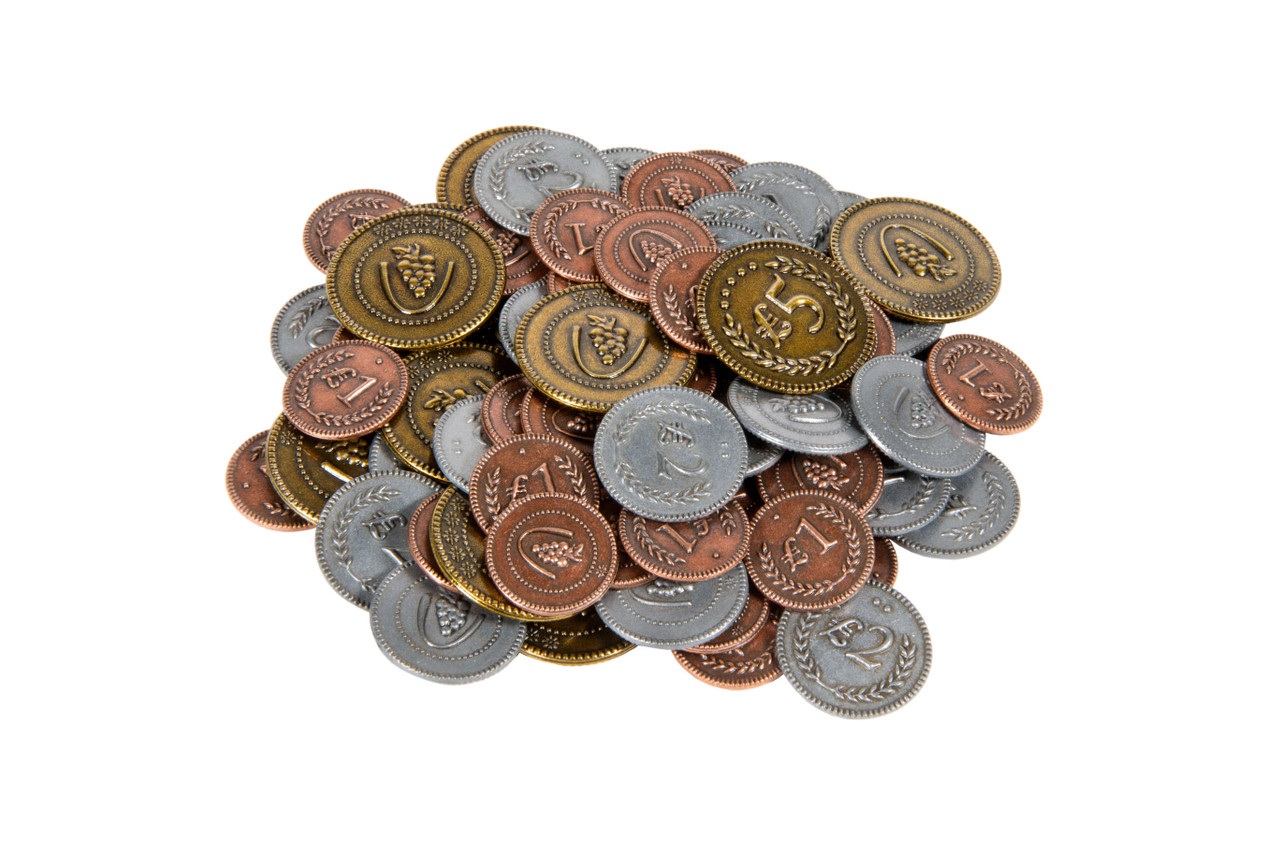 Viticulture Metal Coins (72)