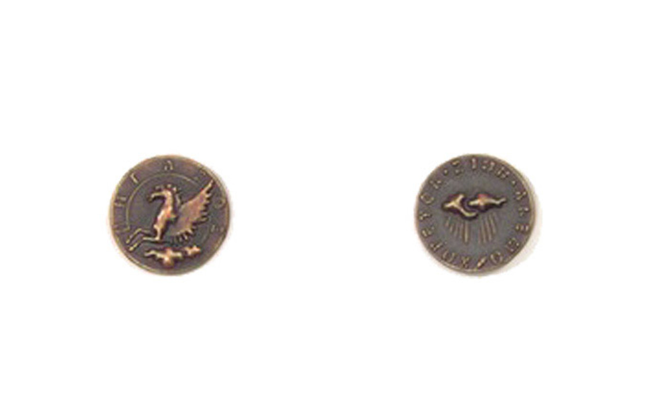 Mythological Creatures Themed Gaming Coins - Tiny 15mm (18-Pack)