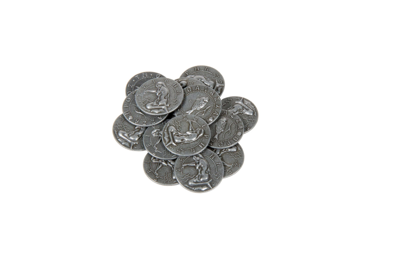Mythological Creatures Themed Gaming Coins - Small 20mm (15-Pack)