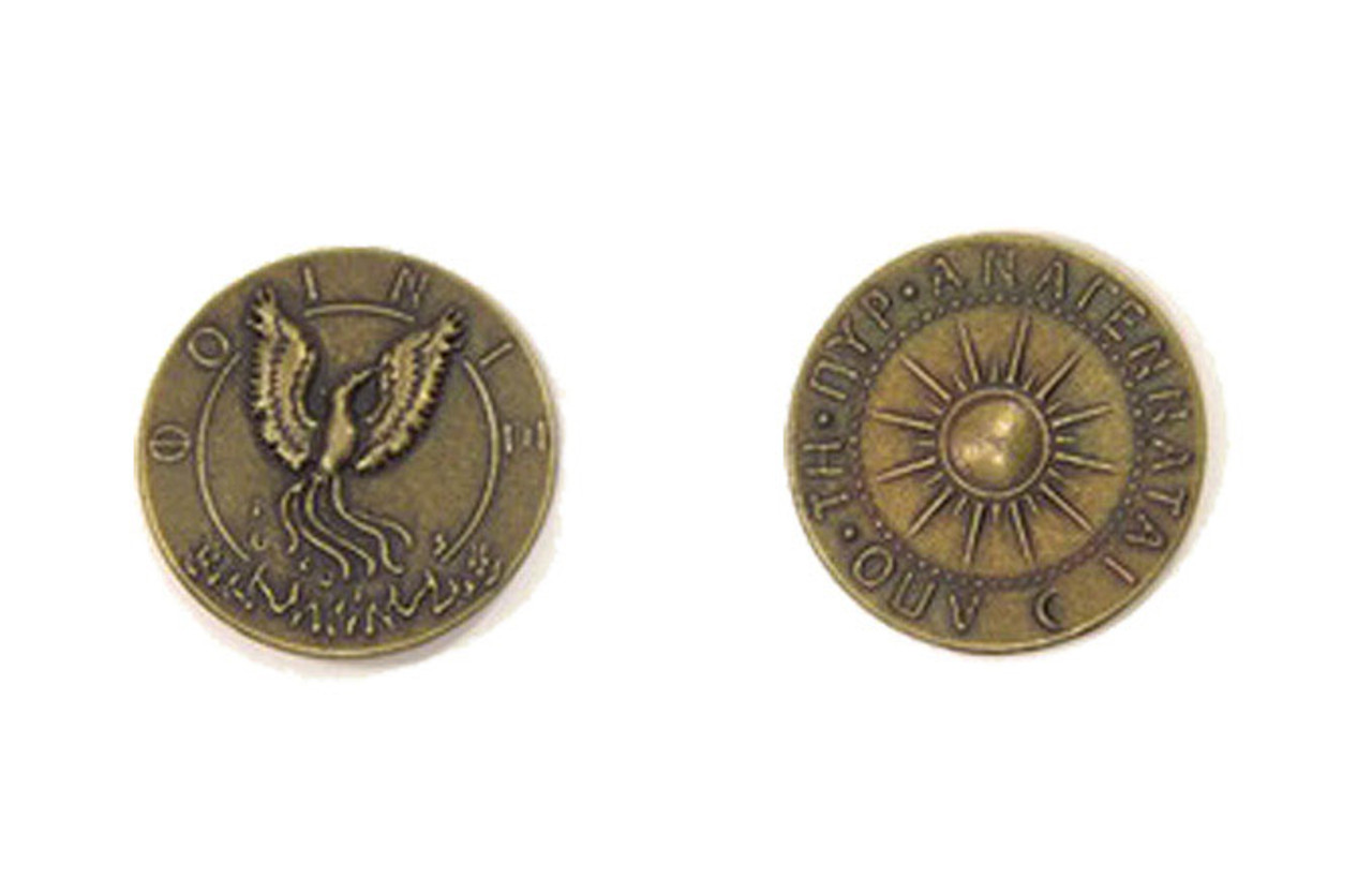 Mythological Creatures Themed Gaming Coins - Medium 25mm (12-Pack)