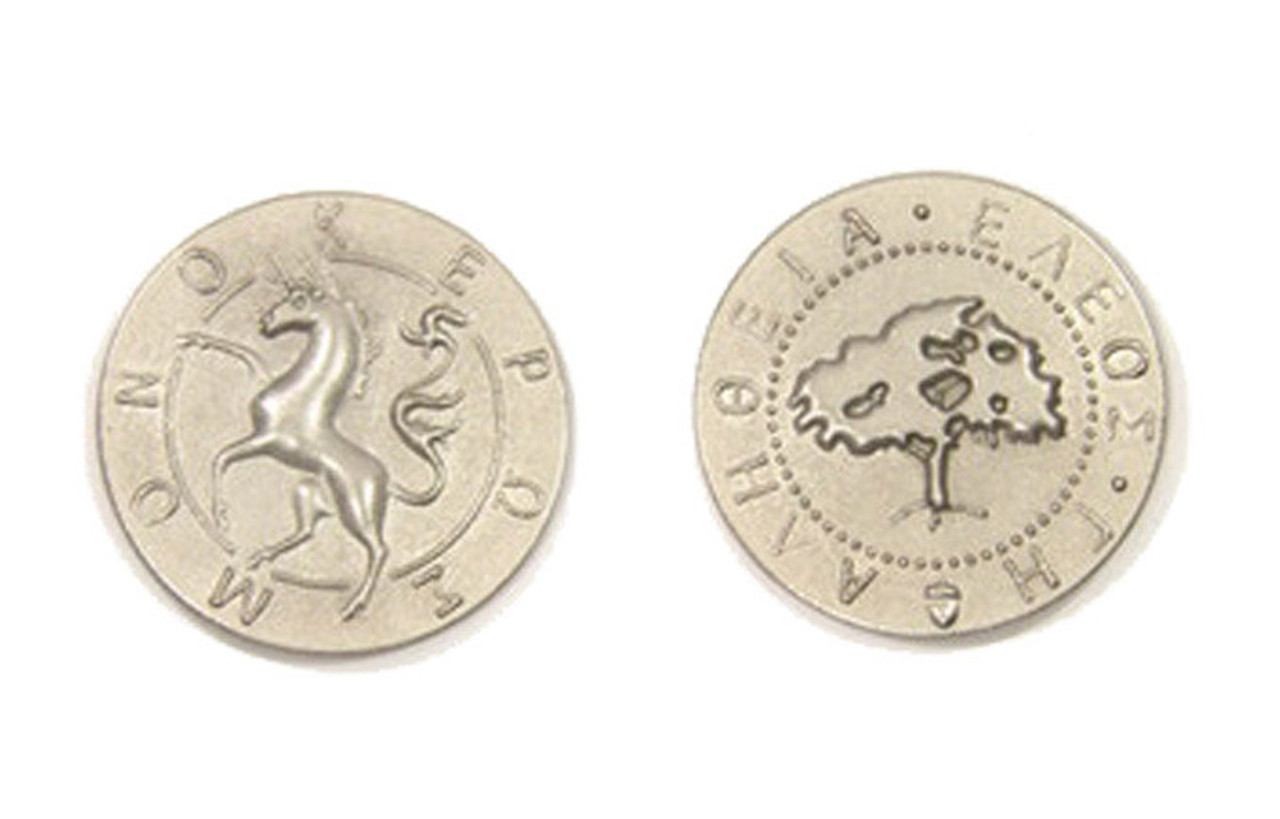 Mythological Creatures Themed Gaming Coins - Large 30mm (9-Pack)