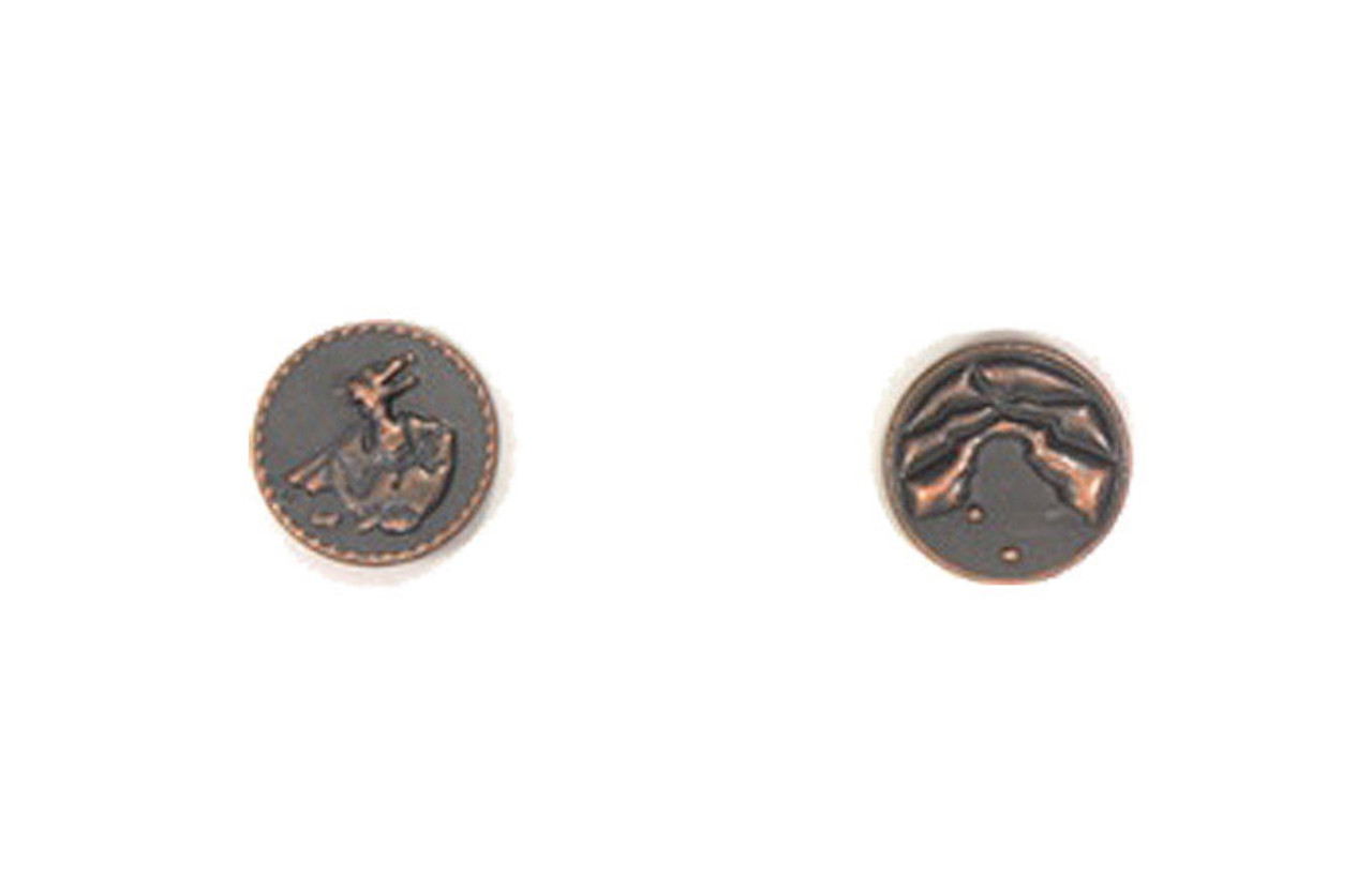 Dragons Themed Gaming Coins - Tiny 15mm (18-Pack)