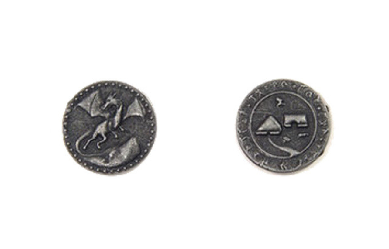 Dragons Themed Gaming Coins - Small 20mm (15-Pack)