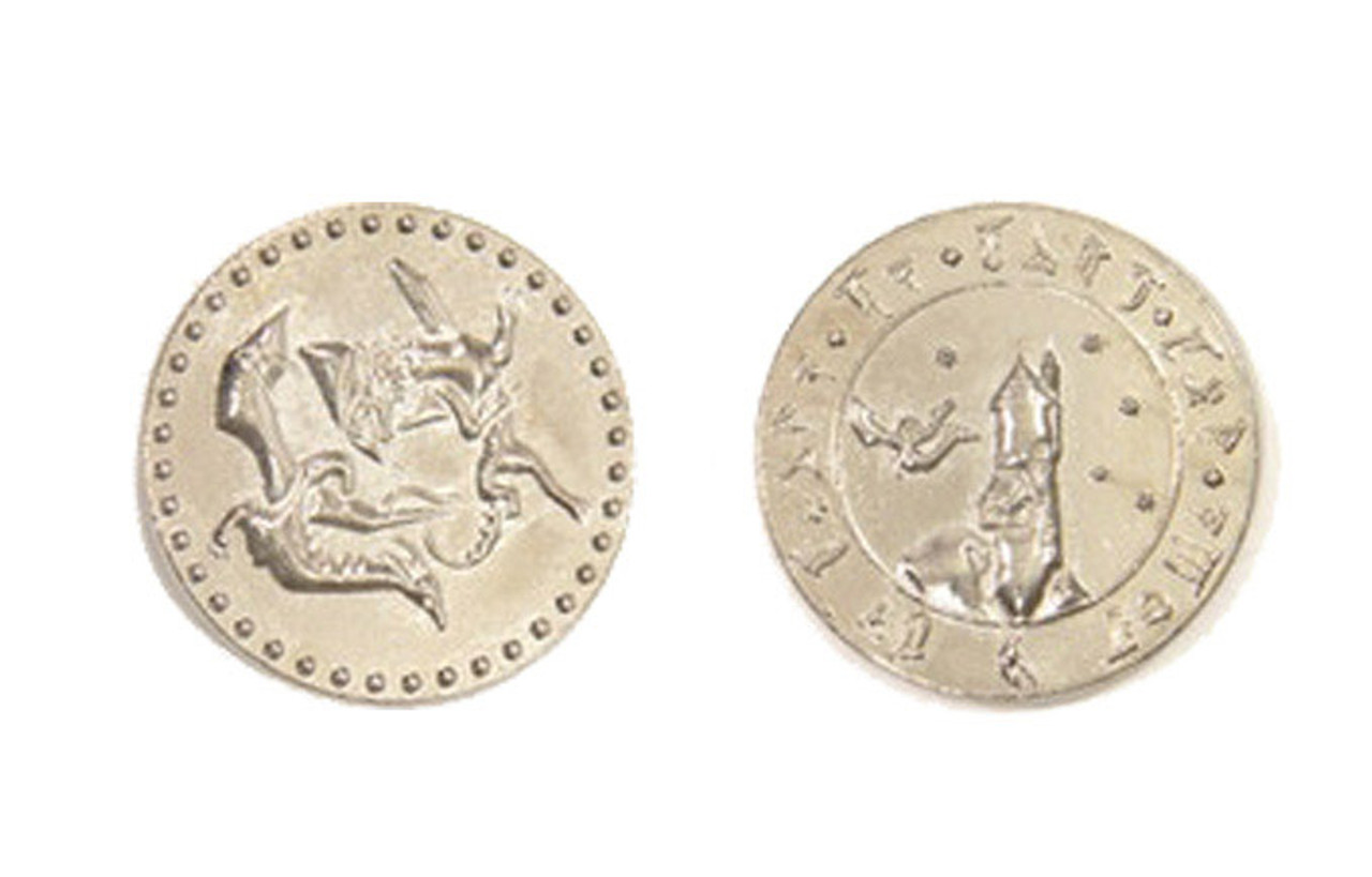 Dragons Themed Gaming Coins - Large 30mm (9-Pack)