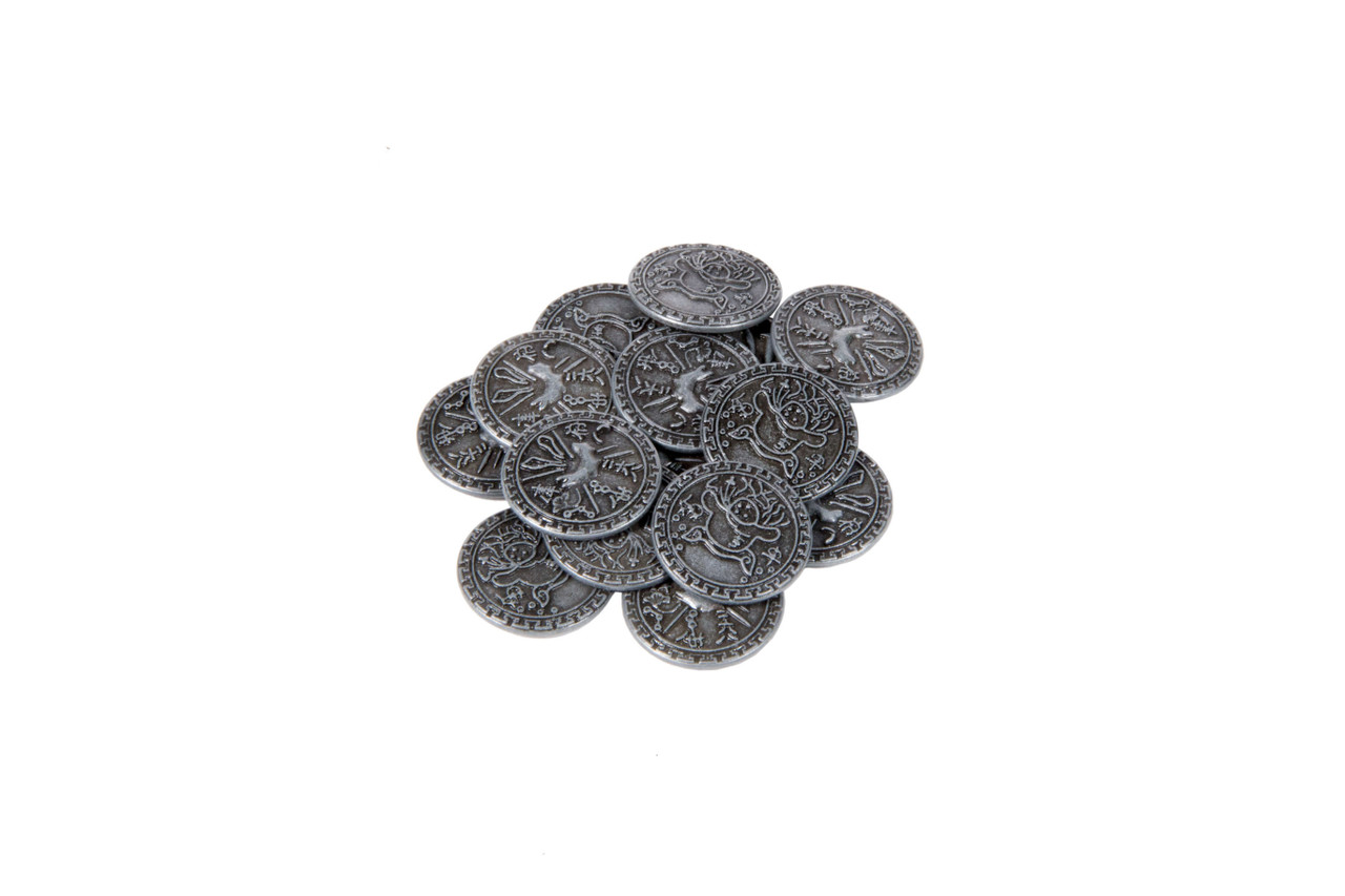 Chinese Themed Gaming Coins - Small 20mm (15-Pack)