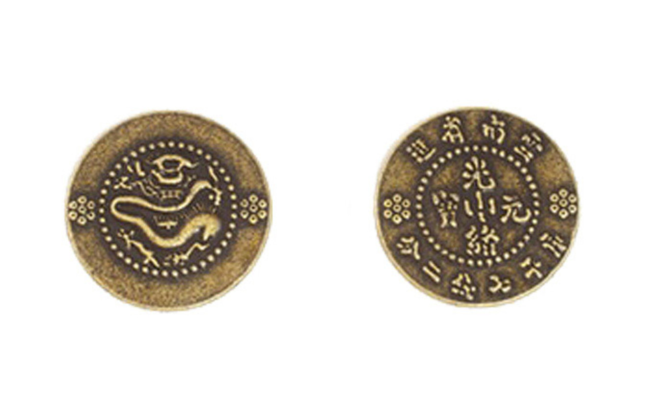 Chinese Themed Gaming Coins - Medium 25mm (12-Pack)