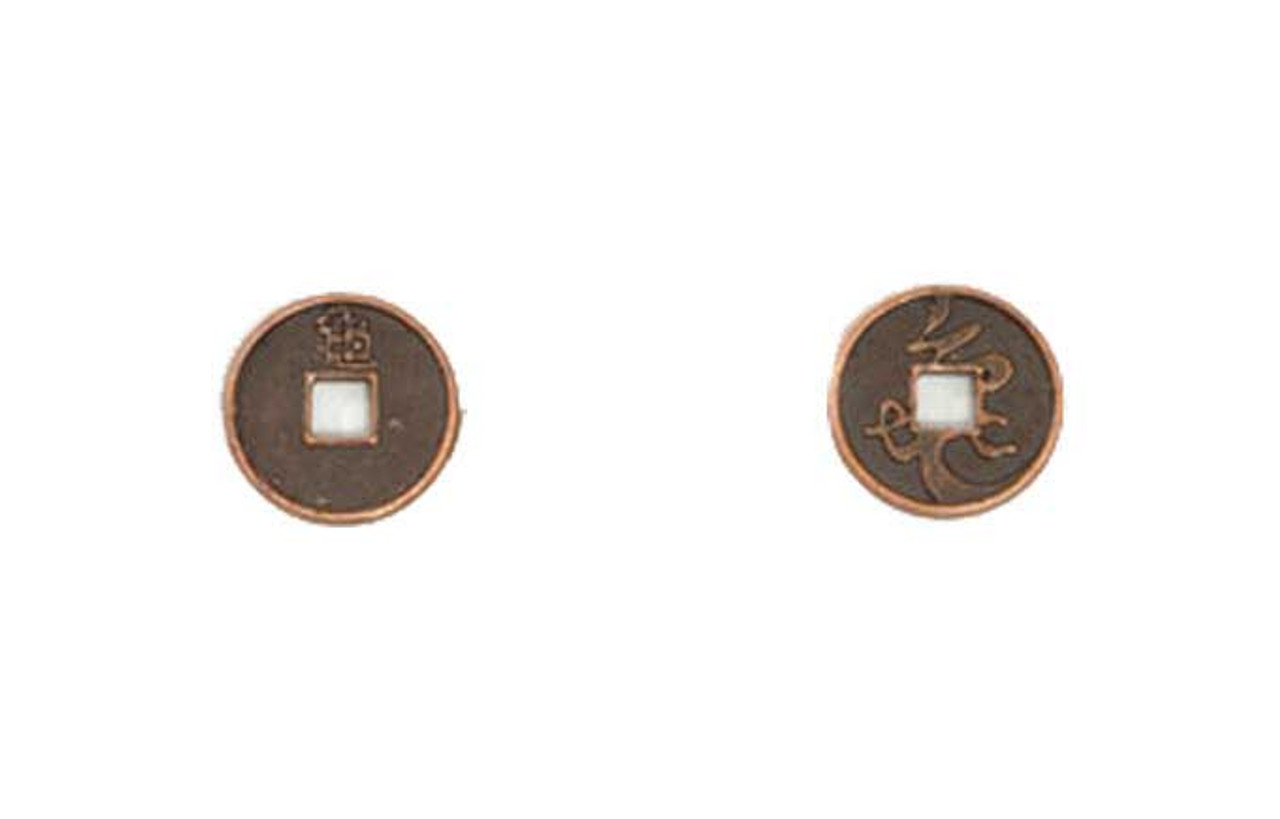 Japanese Themed Gaming Coins - Tiny 15mm (18-Pack)