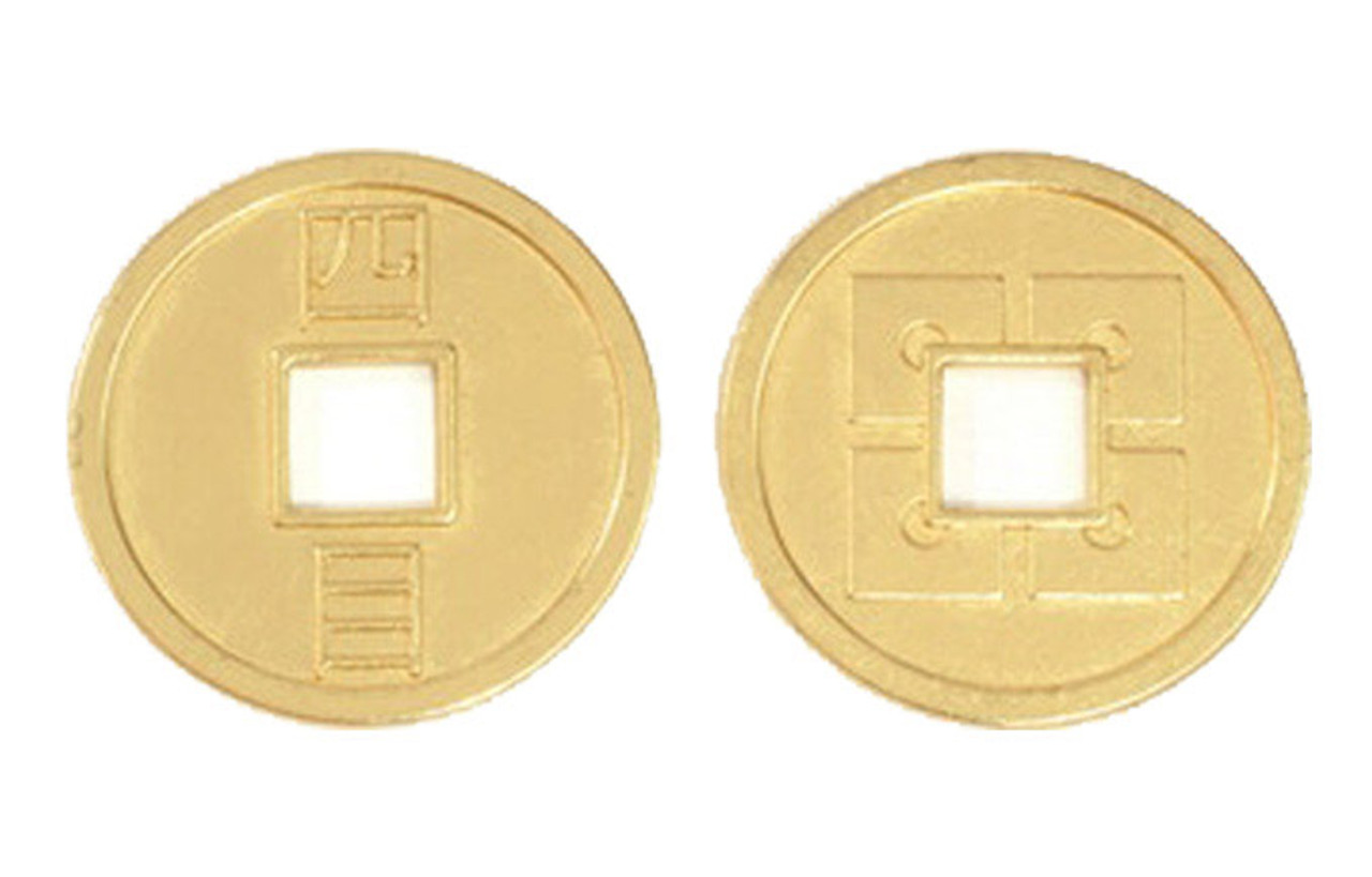 Japanese Themed Gaming Coins - Jumbo 35mm (6-Pack)