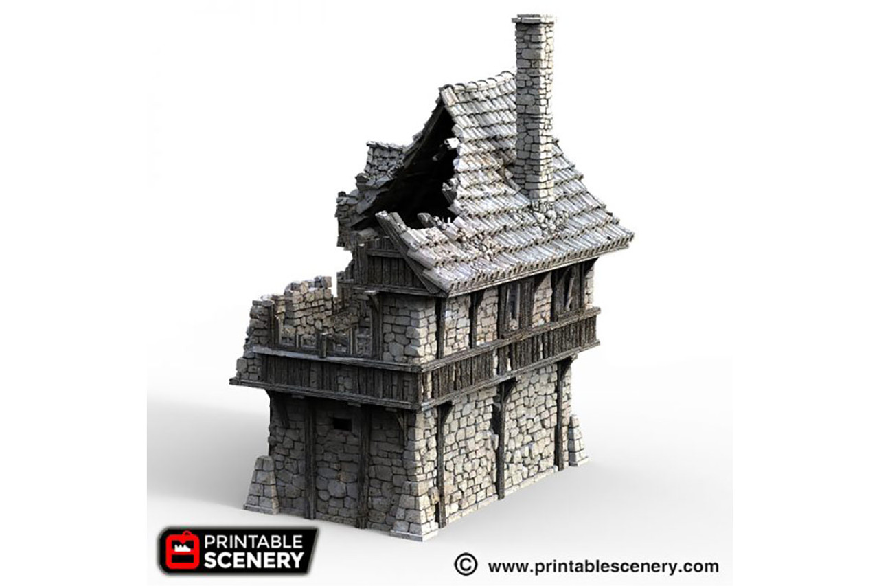 The Ruined Port House