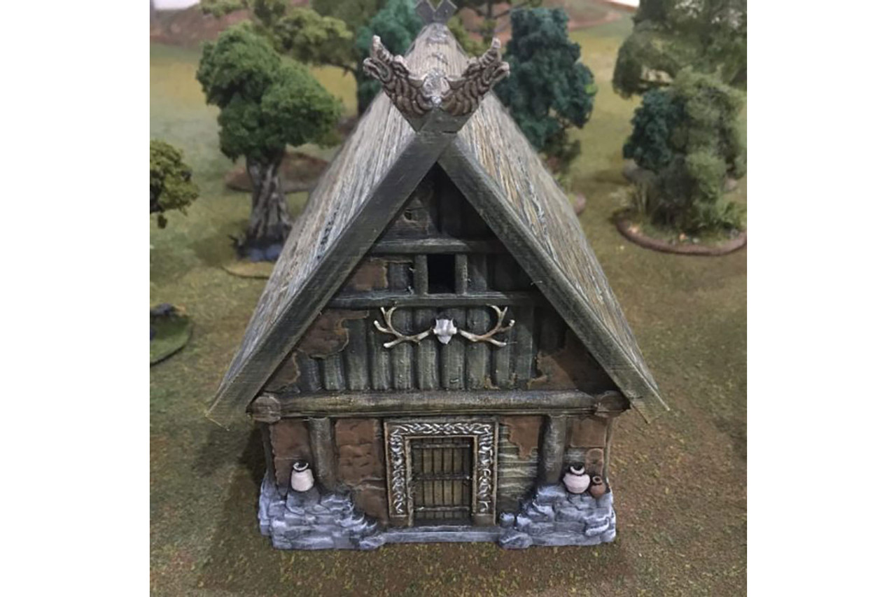 The Barbarian house