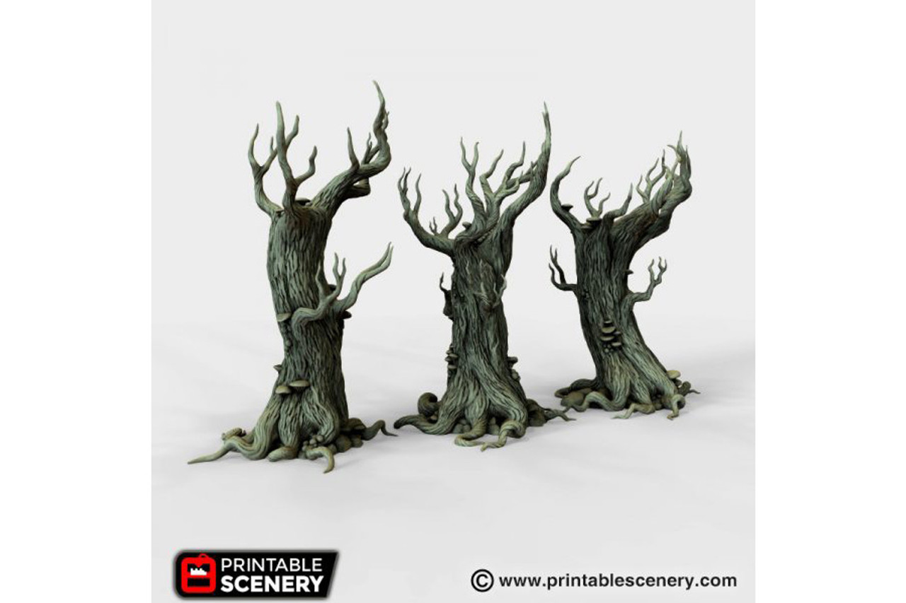 The Gloomwood trees