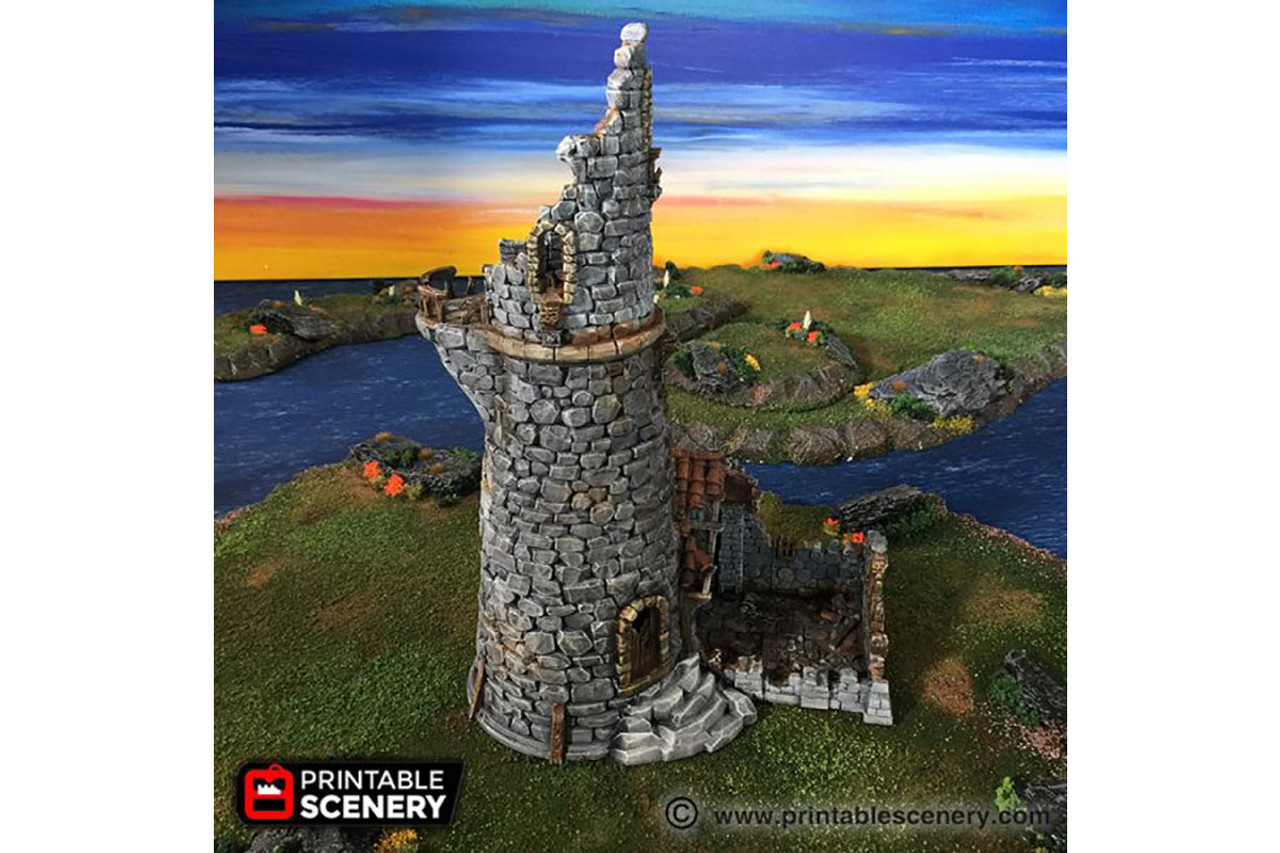 The Ruined Lighthouse