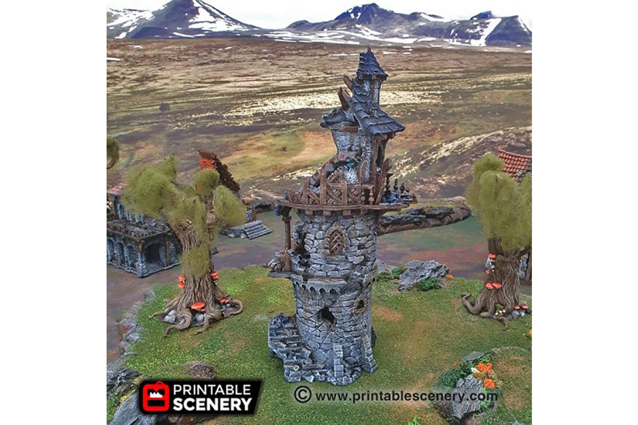 The Ruined Wizard Tower