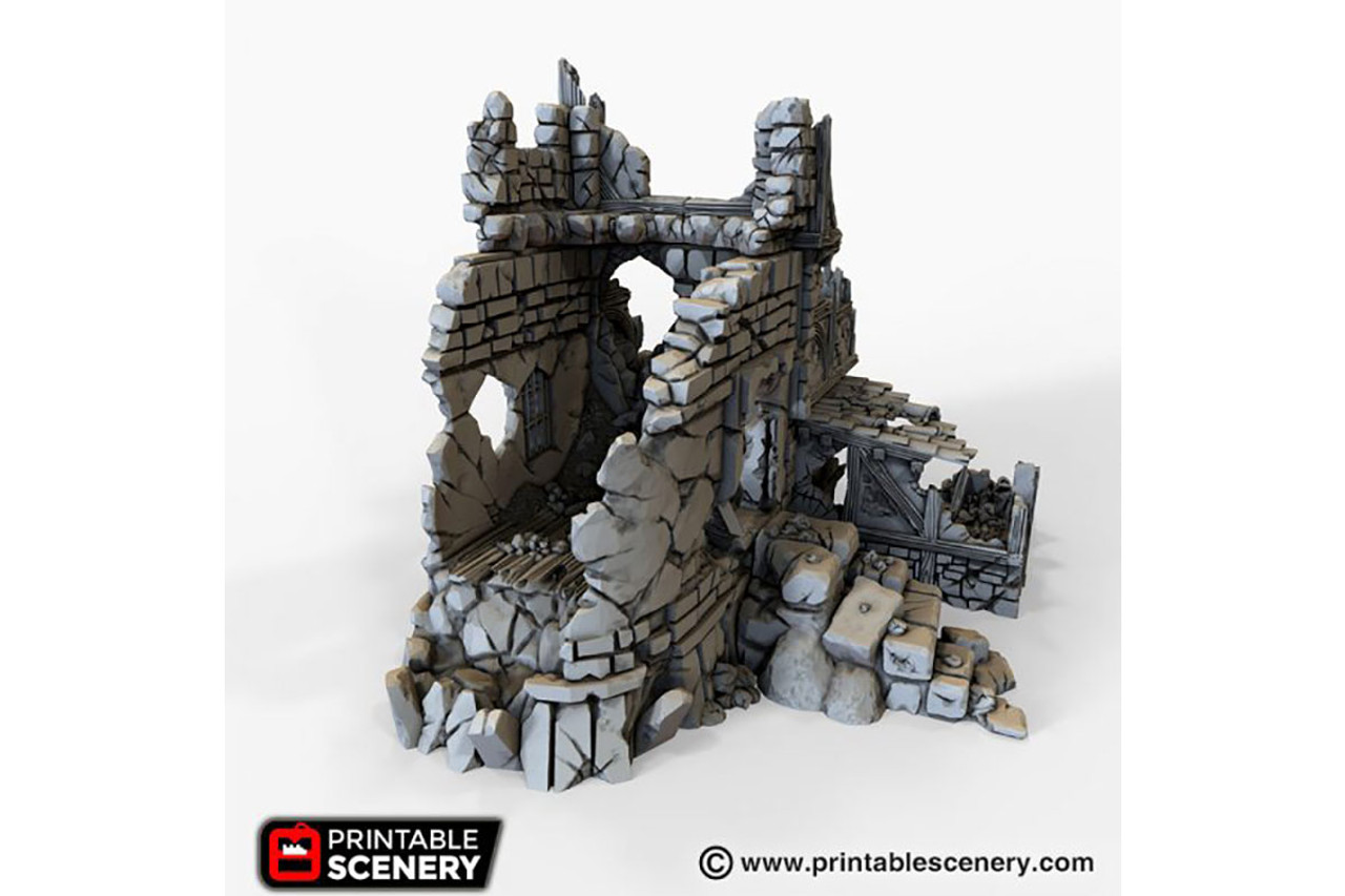 The Ruined War Cottage